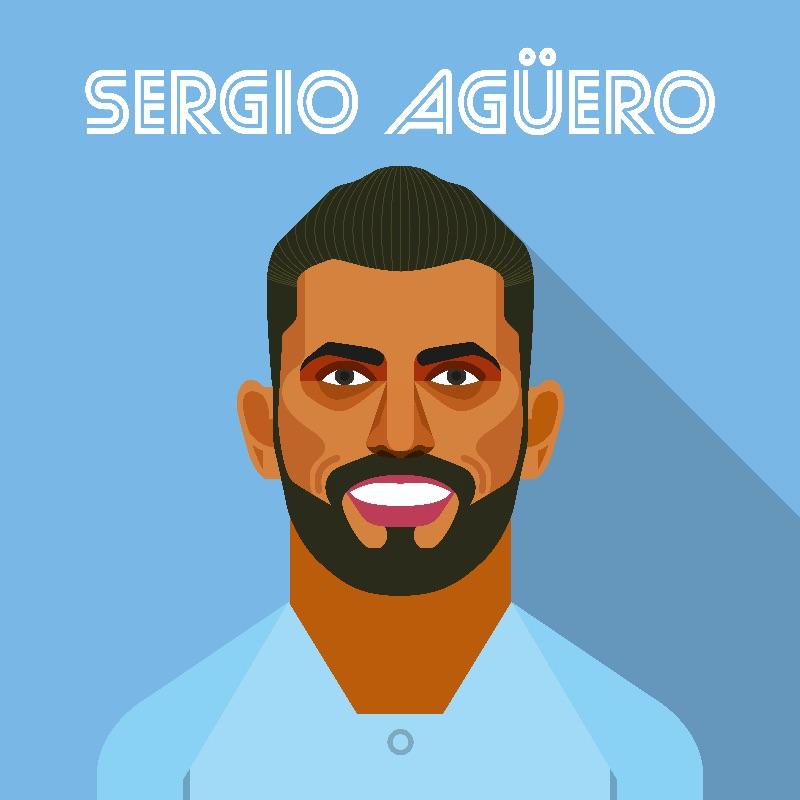 Sergio Aguero  City