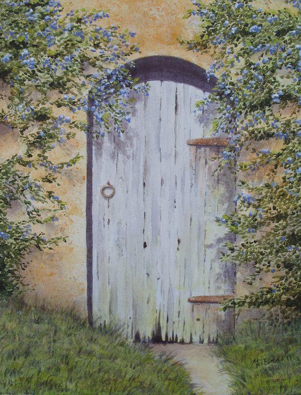 Old Ceanothus Door