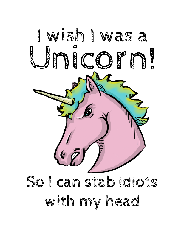 I Wish I was A Unicorn