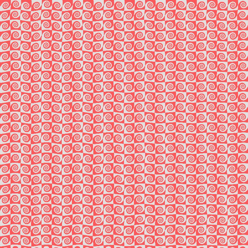 Red wave pattern