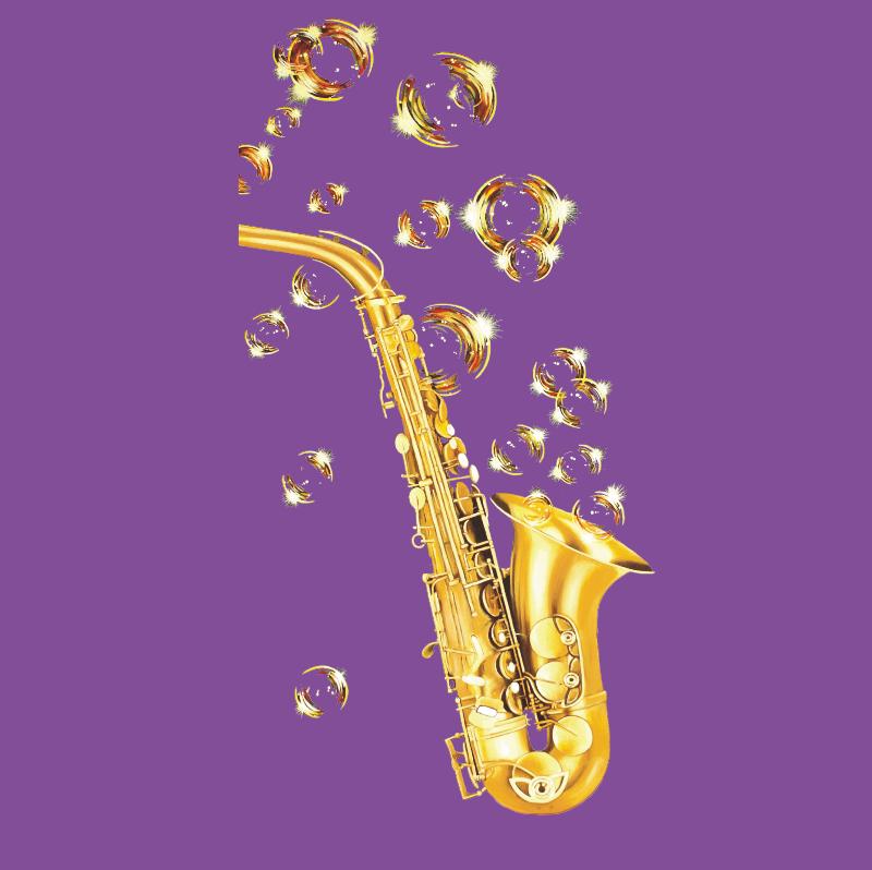 Bubble Jazz Purple
