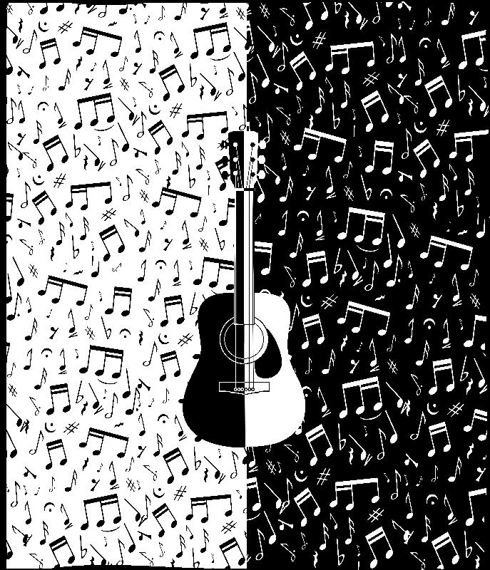 Modern guitar art