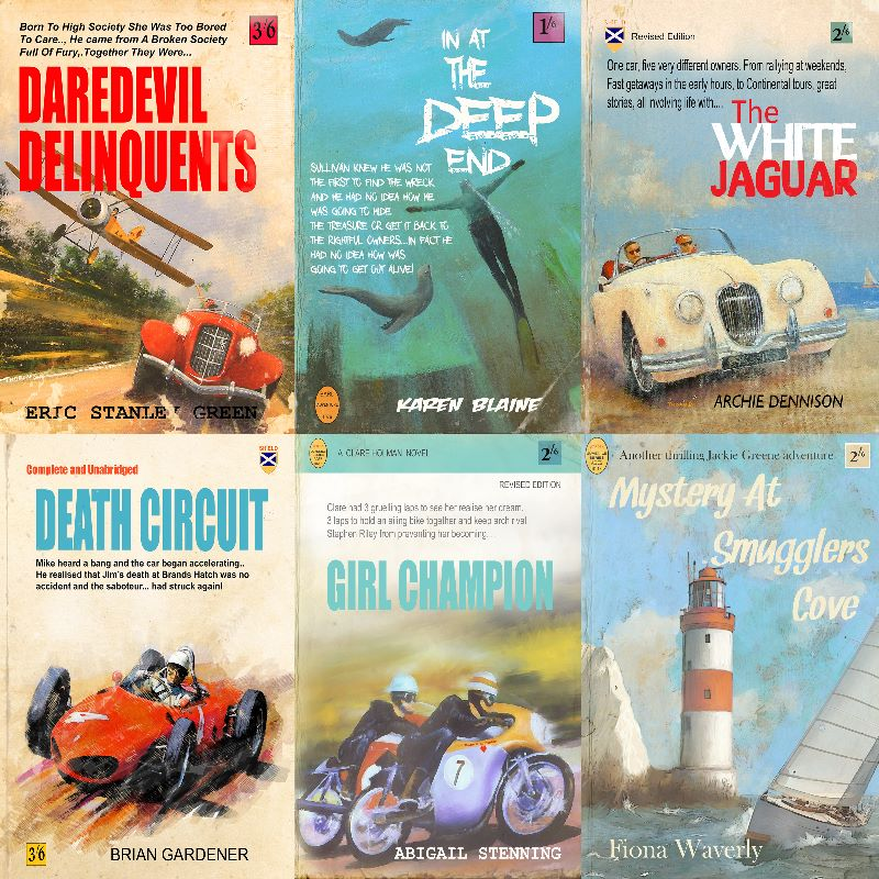 Retro Book Covers
