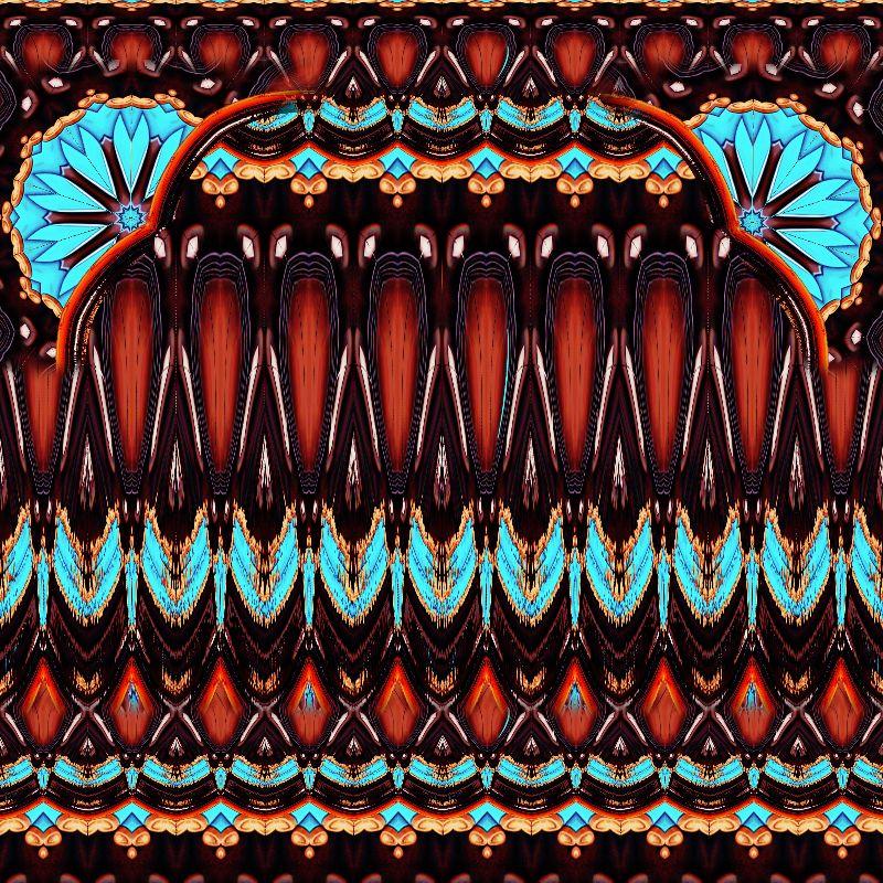 K172 Wood Turquoise