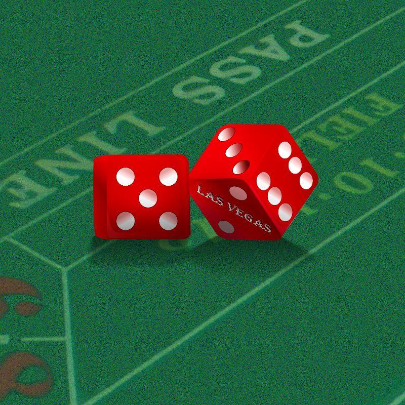 Las Vegas Craps Table