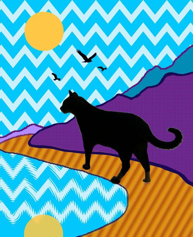 Cat Scape