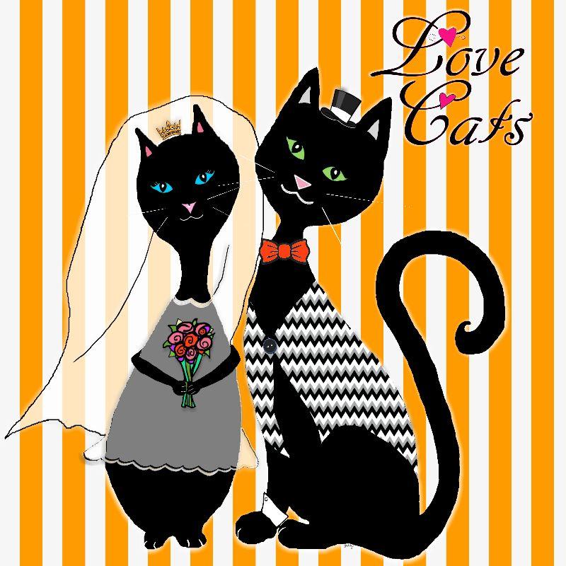 Love Cats Wedding