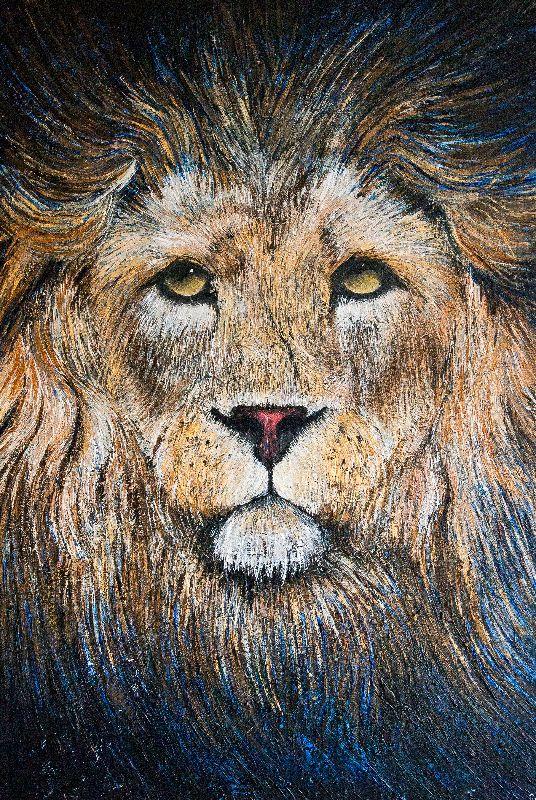 Lion Contemplation
