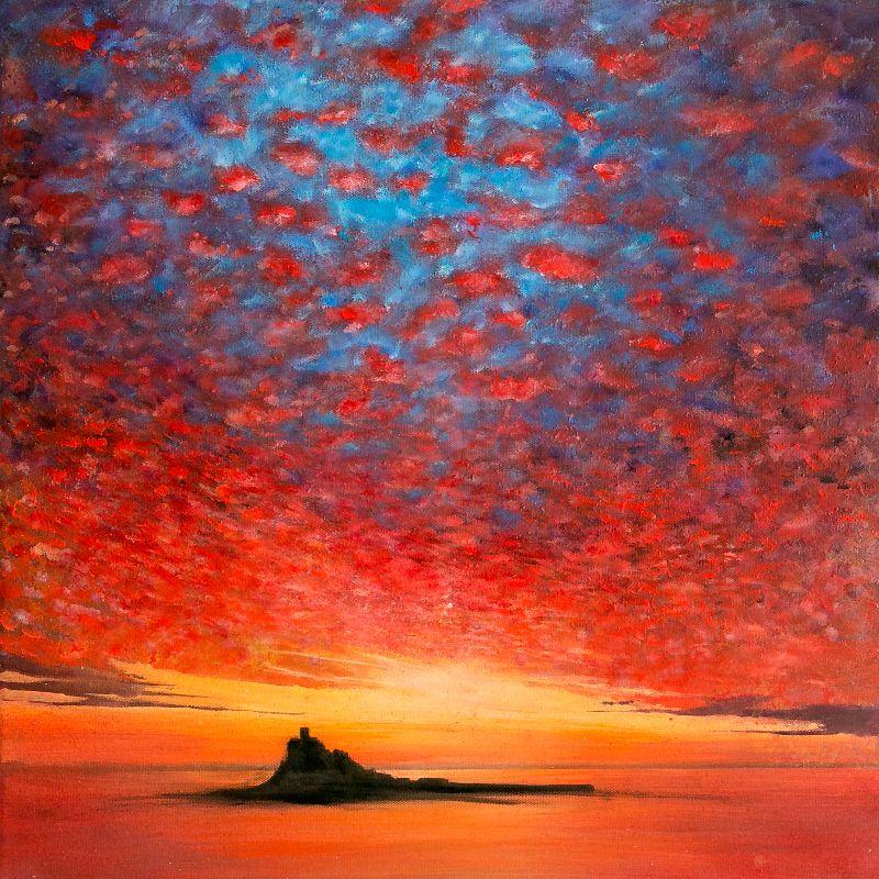 St Michaels Mount Sky