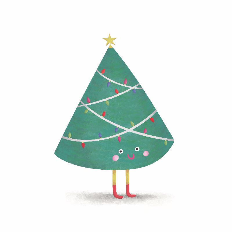 The Happy Christmas Tree