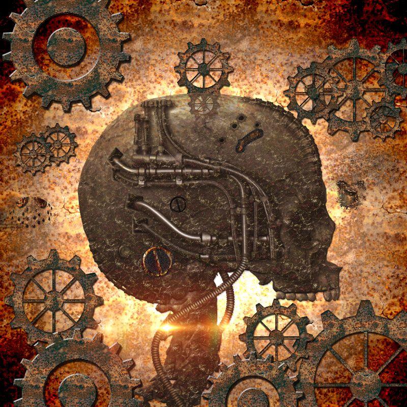 Steam skull