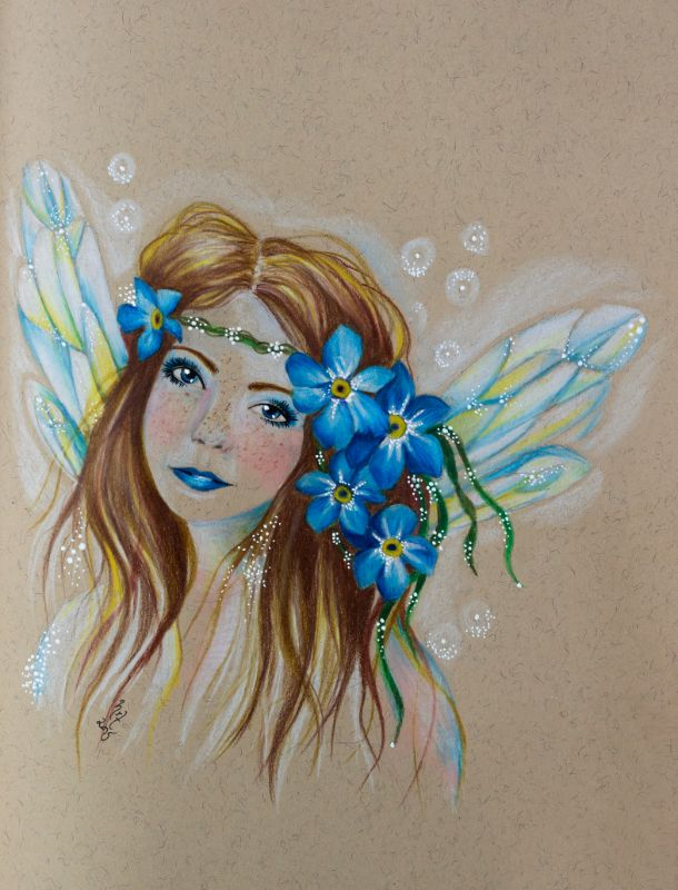 Forget Me Not faery
