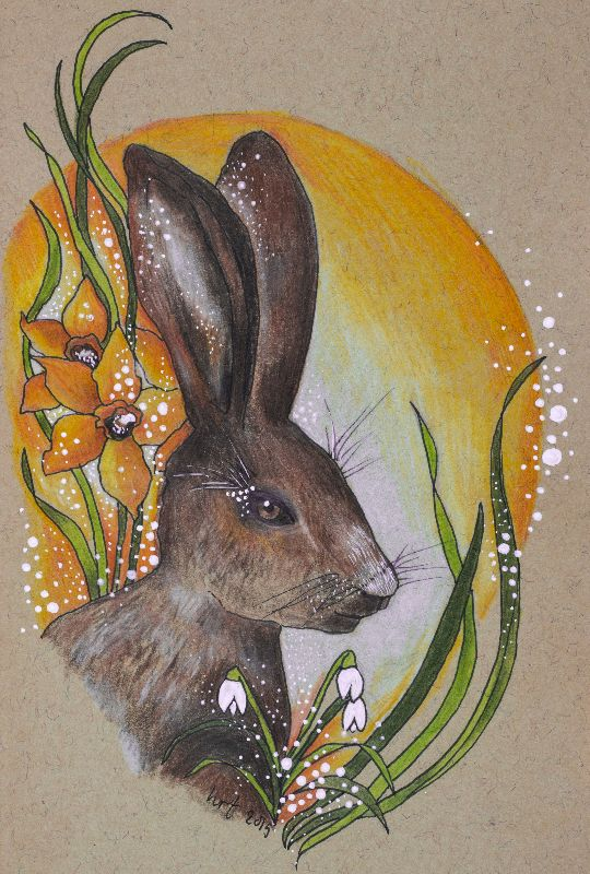 Ostara Spring Hare