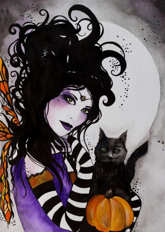 Samhain Faerie