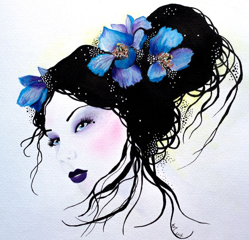 The Blue Poppy Faerie