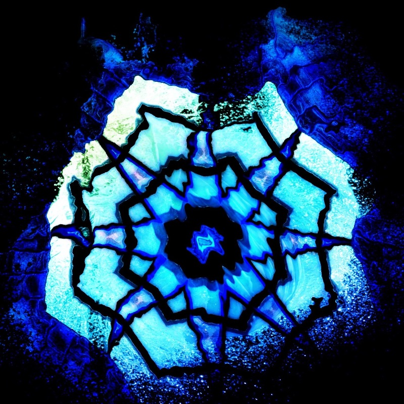 Blue Aqua Star