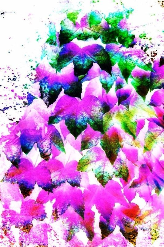 Neon Pink Waterfall