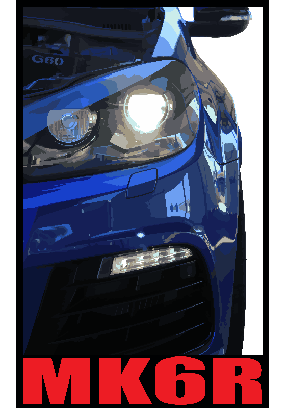 Golf R MK6 Front Long