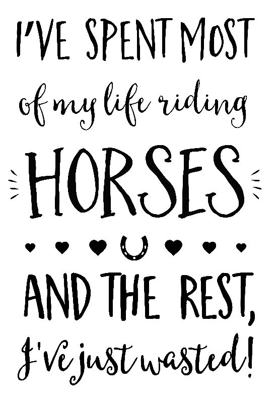 Spent Life Riding