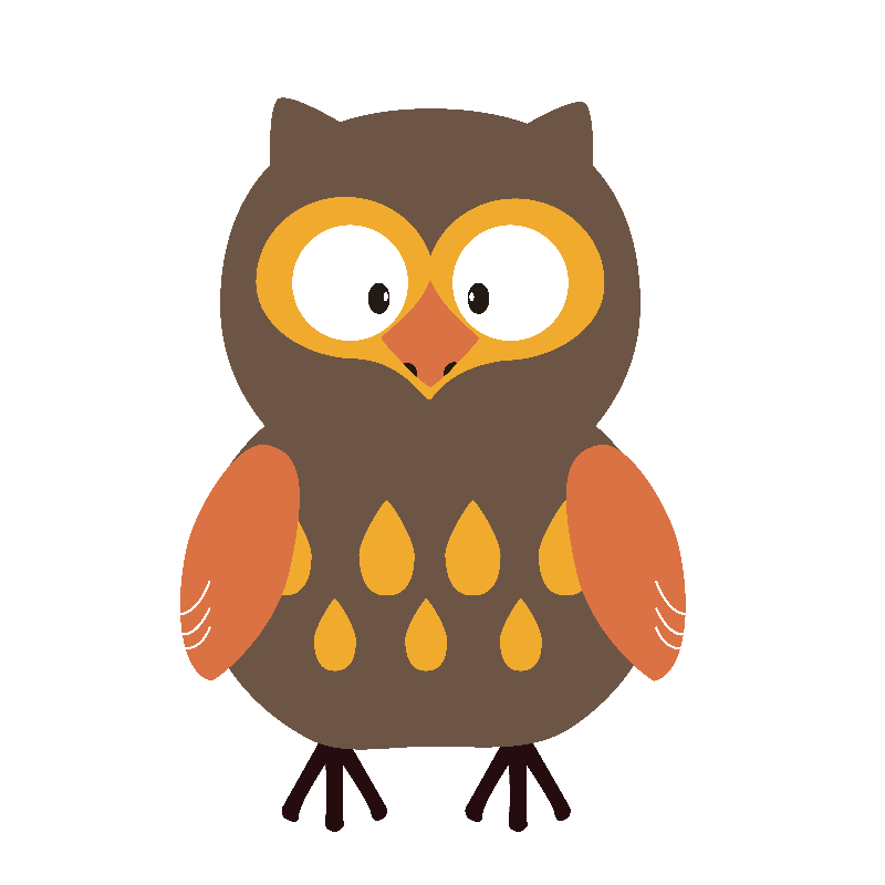Brown Pumpkin Owl