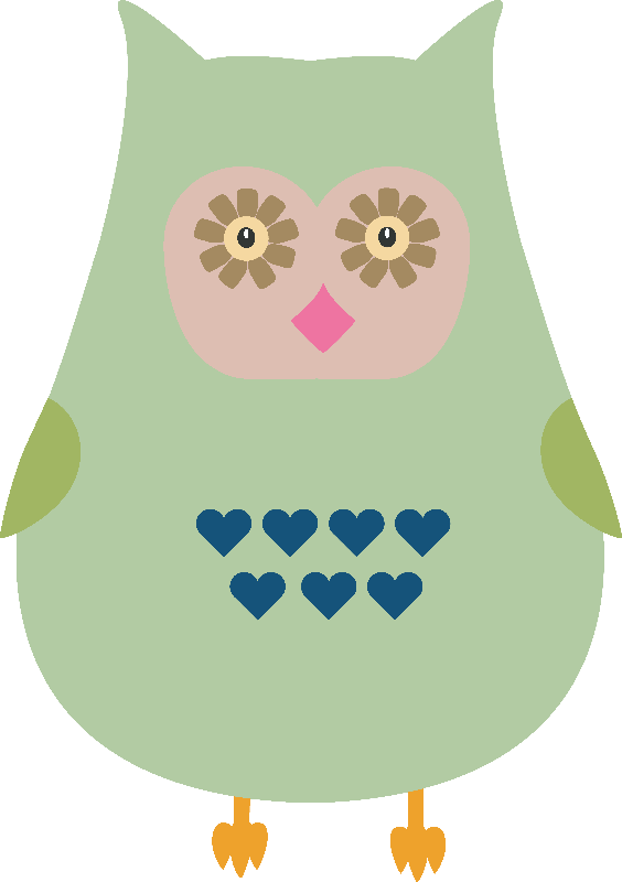 Fat green owl