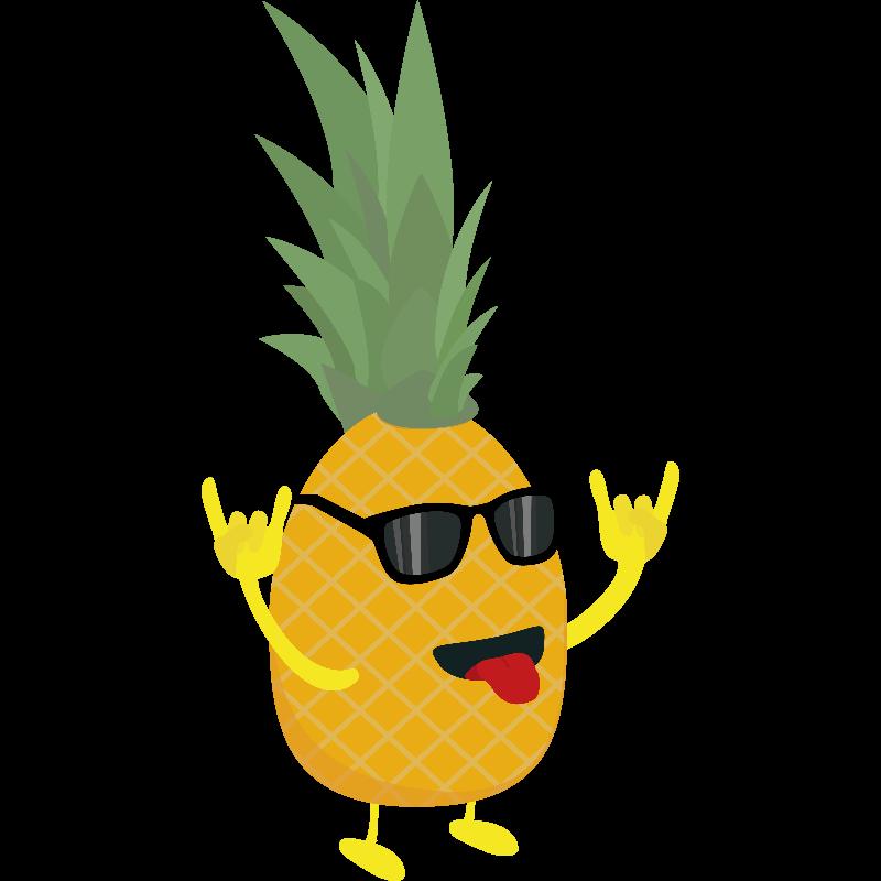 rocknroll pineapple