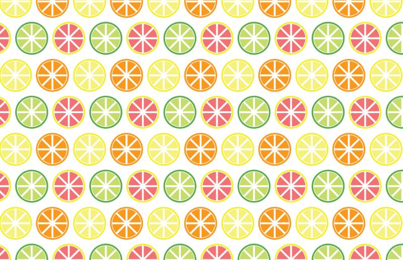 Sunny Citrus Pattern