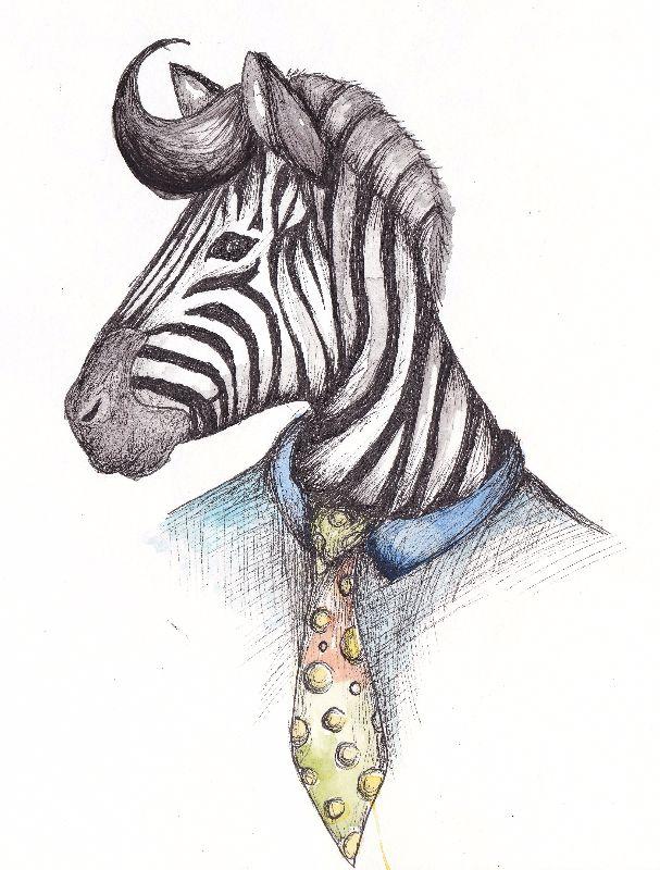 Fancy Zebra