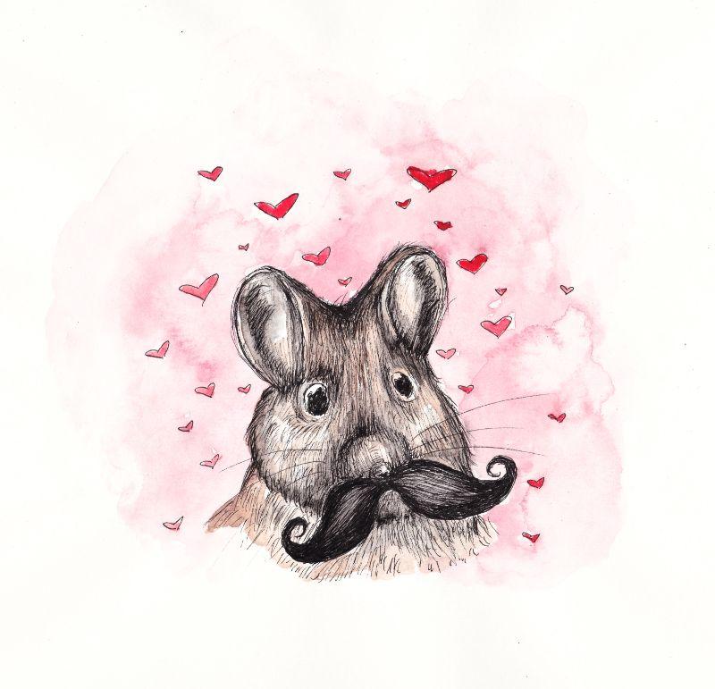 Mouse Moustache