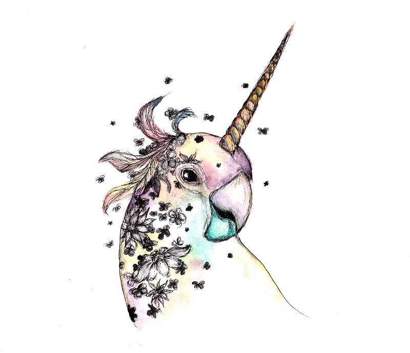 Unicorn Cockatiel