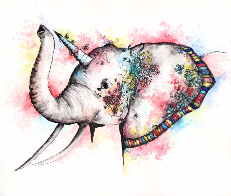 Unicorn Elephant