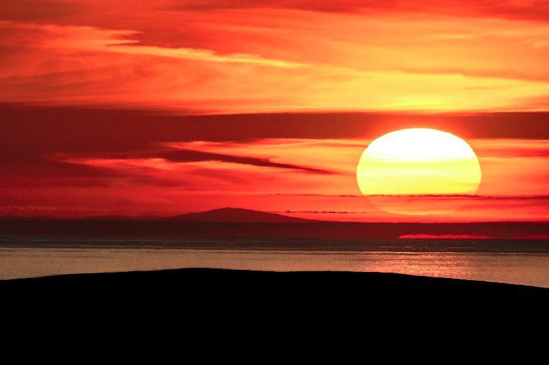 Anglesey Sunset Irish Sea