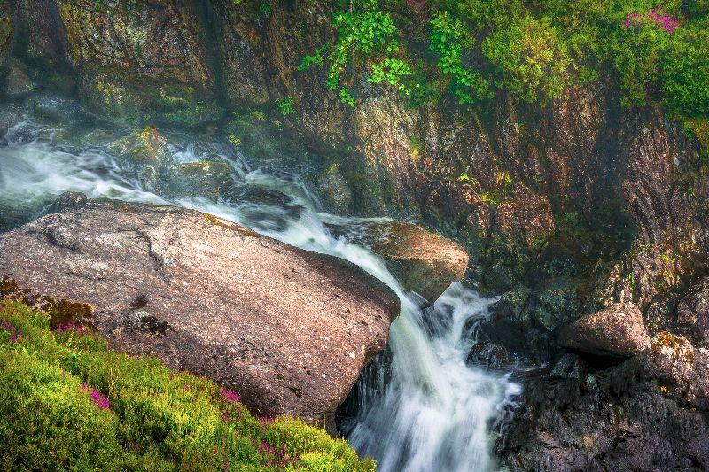Rocky Waterfall Stream