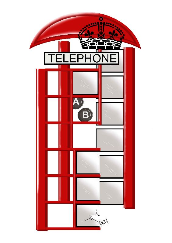 British Icons K2 kiosk
