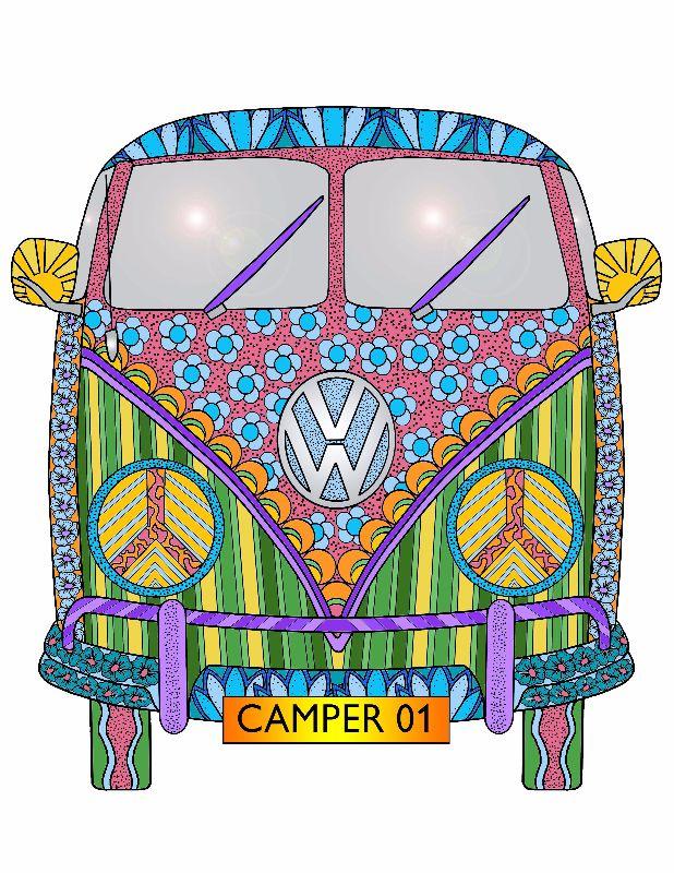 FlowerPower Camper Van