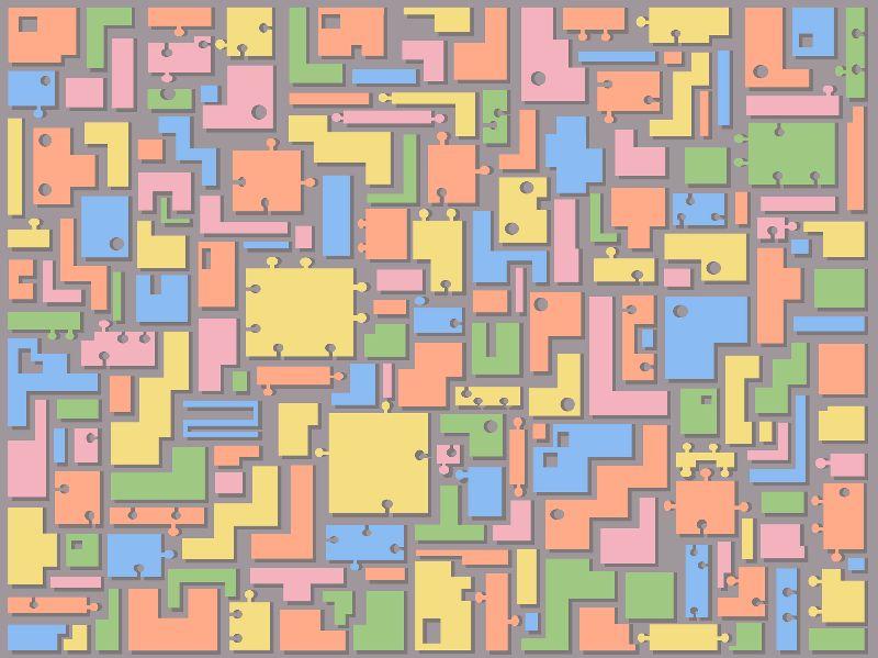 Pastel Jigsaw