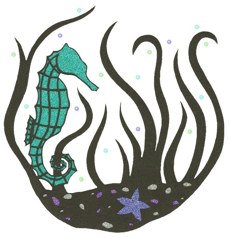 Underwater Seahorse