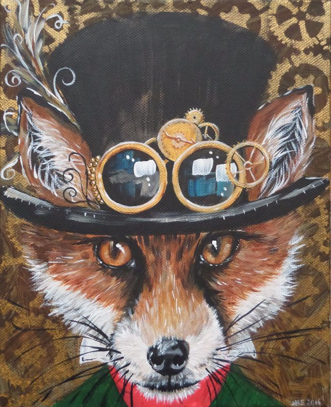 Mr Steampunk Fox