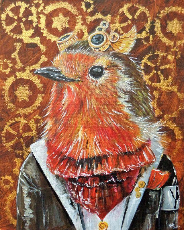 Steampunk Louie Robin