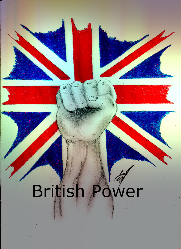 British Power The Poster
