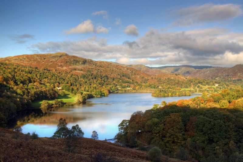 Autumn Light Grasmere