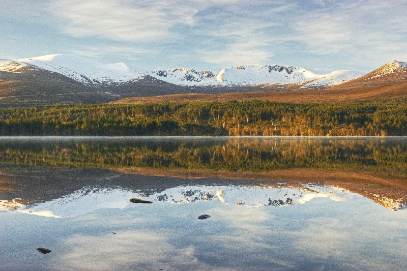Cairngorms Reflected