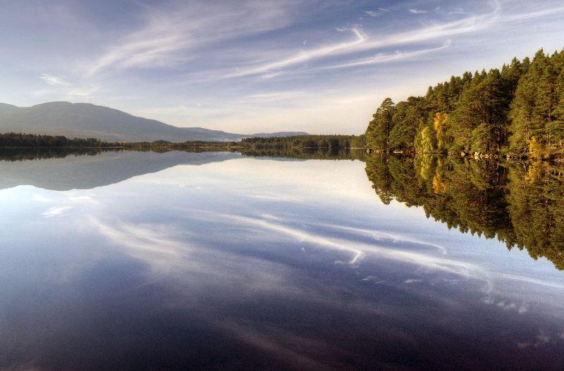 Loch Garten in Autumn