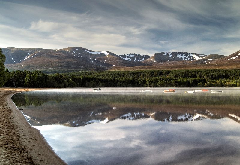 Loch Morlich in May