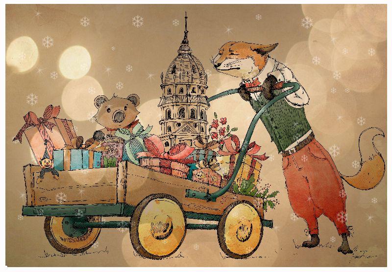 Foxy Christmas