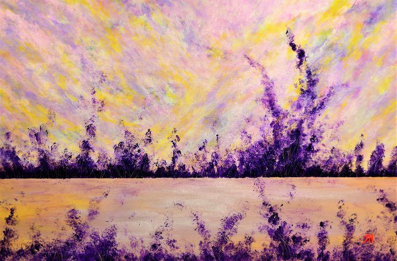 Jane Howarth Purple Three
