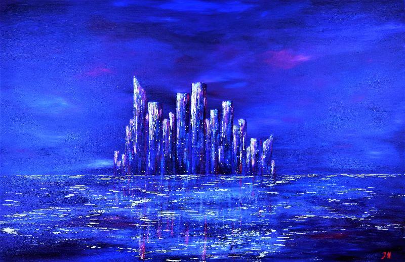 Jane Howarth Urban Blue