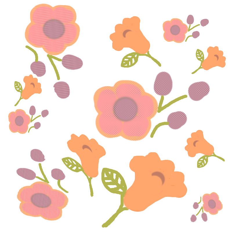 Floral Repeating Design
