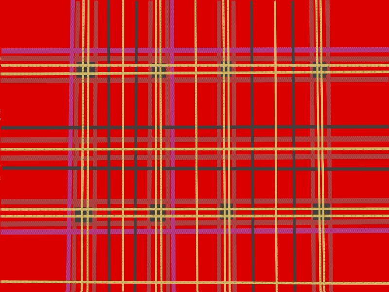 Red Scottish Plaid