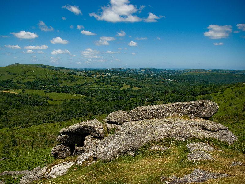 Views across Dartmoor